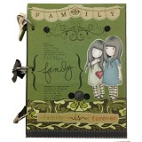 BUKU UNIK Happy Family Forever [CBB-132] - Scrapbook and Patchwork